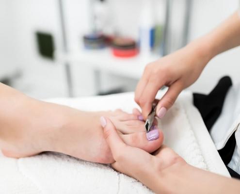Pedicure ultrasoon reiniger